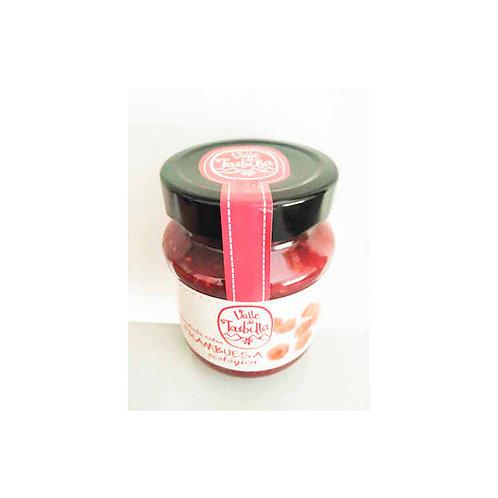Mermelada de frambuesa con azúcar de caña (330 g)