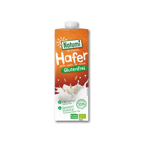 Leche de Avena Natural Sin Glutén NATUMI (1 litro)