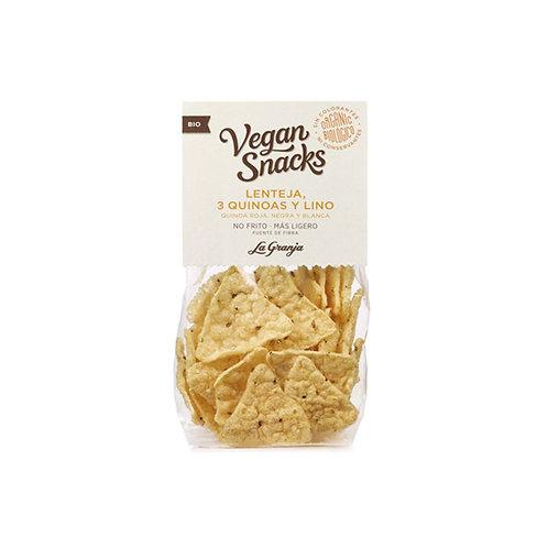 Snack Ecológico a base de Lenteja, 3 Quinoa y Lino ( 40 gr.)