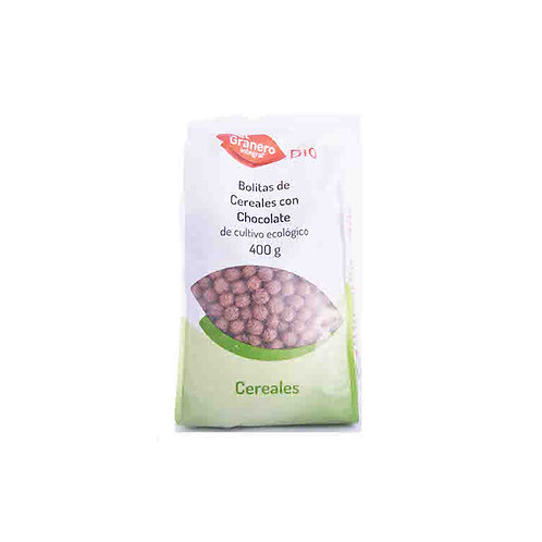 Bolitas de cereales con chocolate bio (400 g)