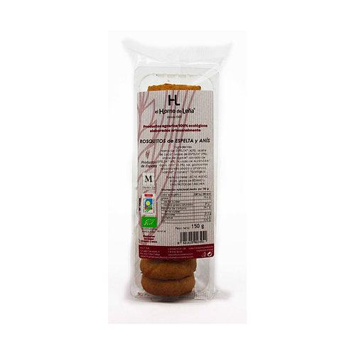 Rosquitos de Espelta con chocolate