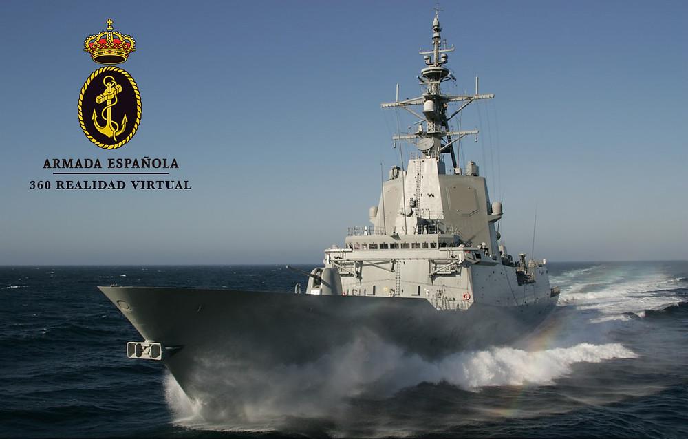 armada española realidad virtual