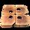 Thumbnail: Conjunto de Mesa de centro Orgânica - LMCB07