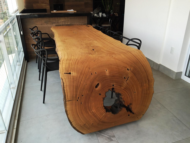 Arboreal mesas e m veis r sticos em madeira maci a s o for Mesas para bar rusticas