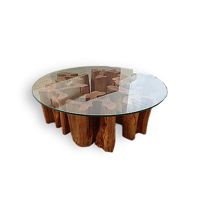 Guarantã coffee table - MCG01
