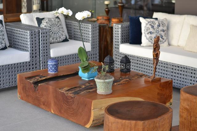 Mesa de centro em madeira maciça de Garapeira ArboREAL