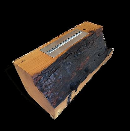 Lareira Ecológica em Tronco Orgânico - LLAB01