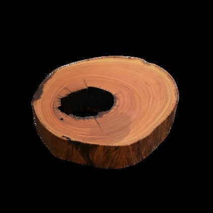 Mesa de centro em tronco - LMCT37