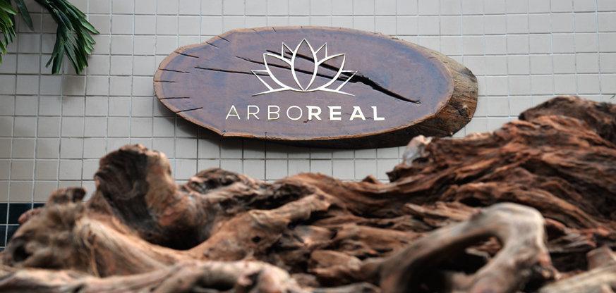 Fachada da fábrica ArboREAL