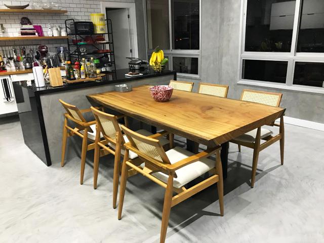 Mesa de Jantar para Área Gourmet