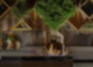 Lareira ecológica rústica em mdeira maciça. ArboREAL Móveis Rústicos em Madeira Maciça