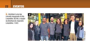 a inauguração da loja conceito da ARboREAL na Vila Leopoldina foi destaque no Guia Daqui Lapa + Leopoldina