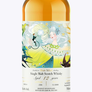 Blair Athol Distillery   布莱尔阿苏威士忌酒标