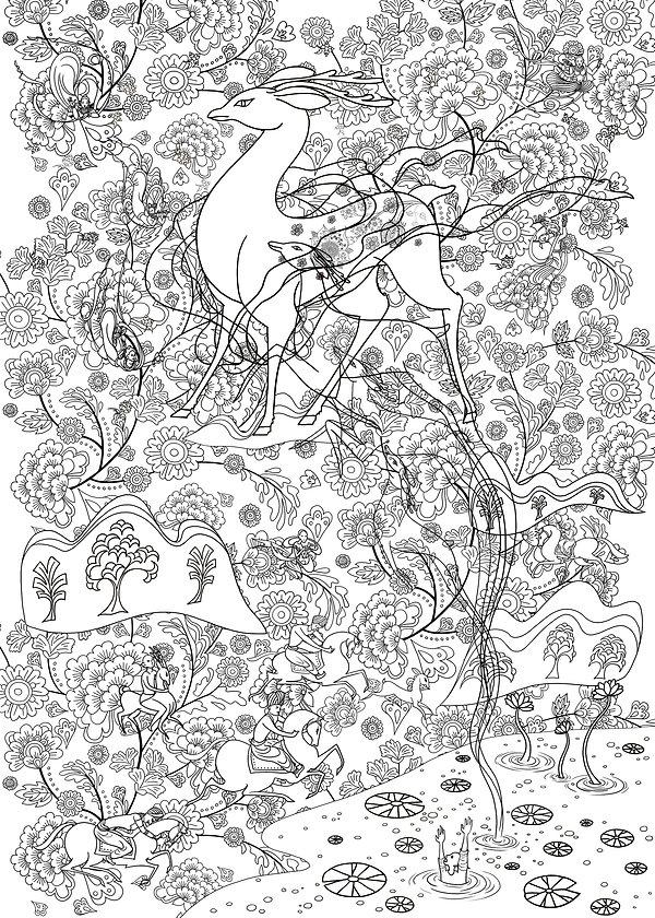29. A deer of nine colors_sketch.jpg