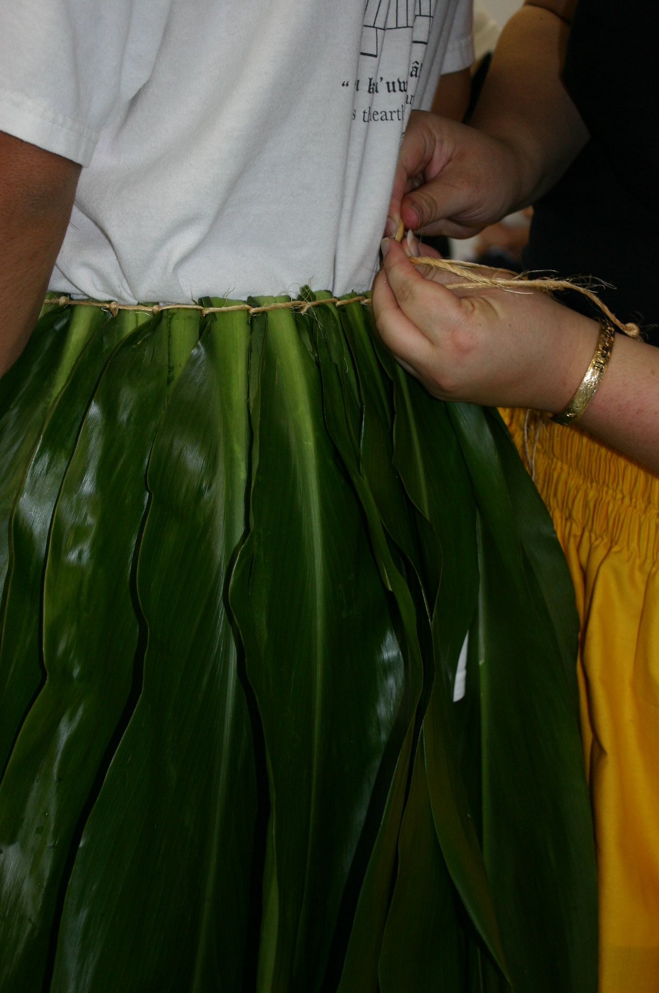 ti-leaf skirt