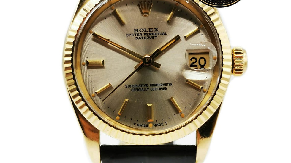 Rolex Lady-Datejust Or 18k