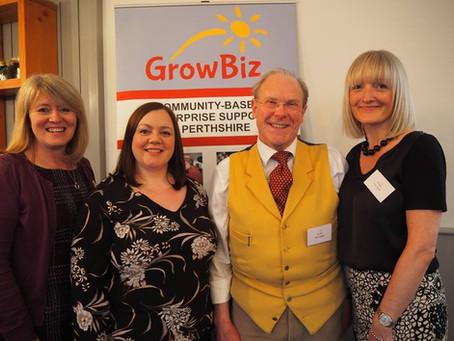 GrowBiz Mentoring Team Success at Scottish Mentoring Network Awards