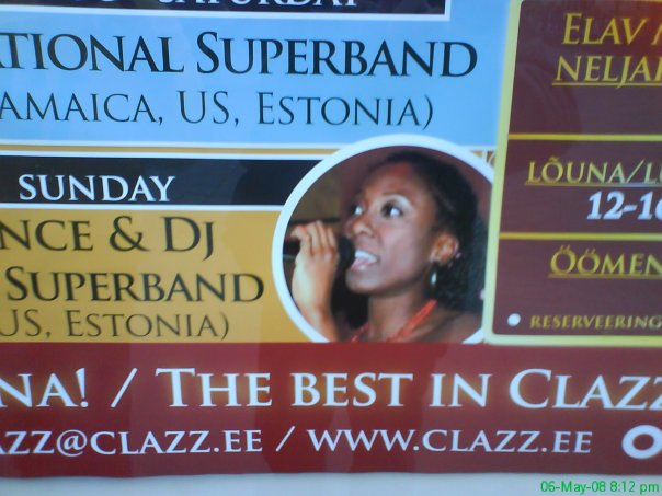Jazz club Clazz poster