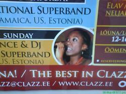 Jazz club Clazz poster