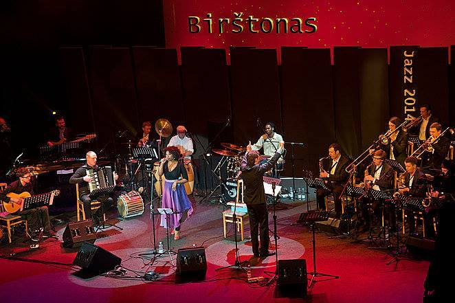 Vilnius Jazz Orchestra at Birstonas Festival.