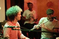 Jam with Inor e Jorge Continentino at clazz