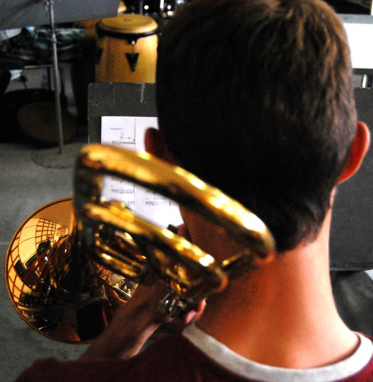 Vilnius Jazz Orchestra rehearsal 1.