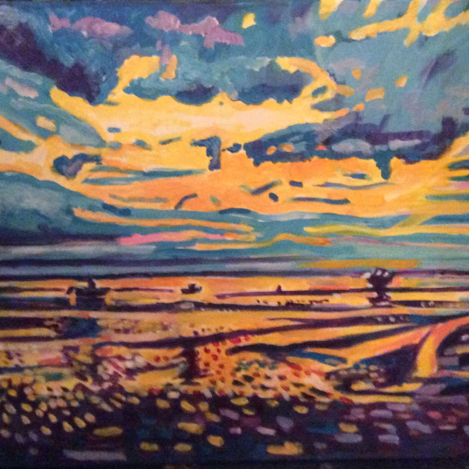 Sunset st Leigh / Malcolm Perry.