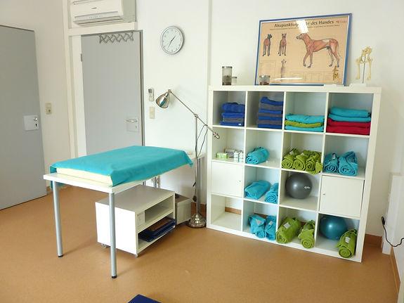Praxisraum bei der Physio
