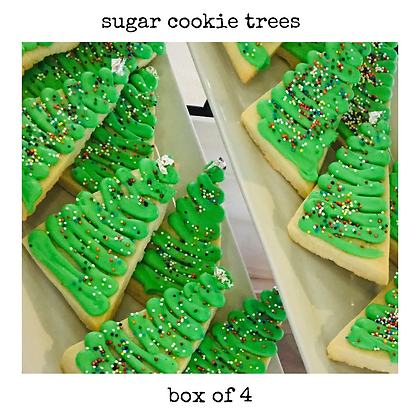 sugar cookie trees