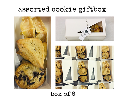 assorted cookie gift box