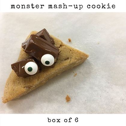 monster mash-up cookie