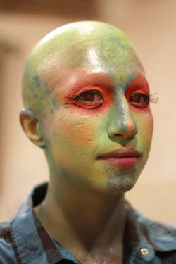 Bald Cap/Airbrush