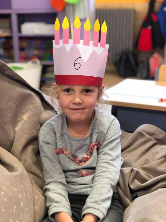 Charlotte is 6 jaar!