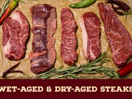 [台中買肉找日盛牛肉]什麼是「熟成」? 乾式熟成跟溼式熟成的差別是什麼?