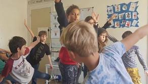 """Atelier """"Réflexes archaïques"""" à l'école"""