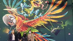 L'Equipe enseignante au ZOO XXL street art