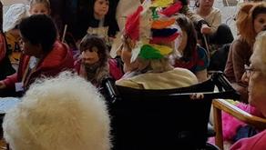 Carnaval à la maison de retraite