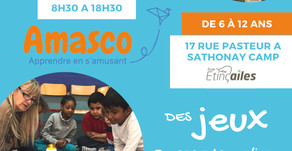 Ateliers Amasco accueillis à Etinç'ailes