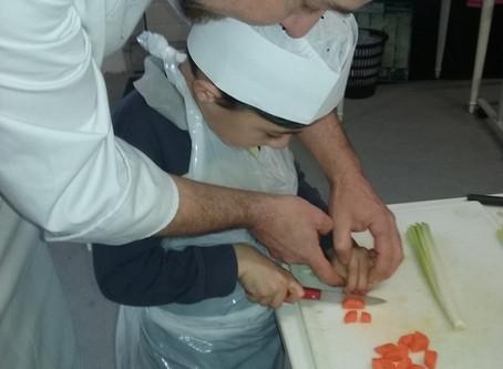Hum, quel beau métier : cuisinier !