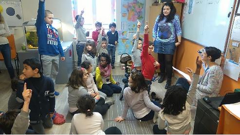 Enfants acteurs Ecole alternative Sathonay Lyon