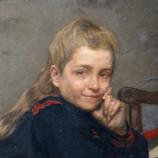 """""""En famille"""" (détail - Rosa DE WINTER) - Pharaon DE WINTER - Lille - 1910"""