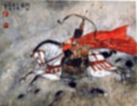 Pheï Zhang Yang, Un jeune prince tirant à l'arc