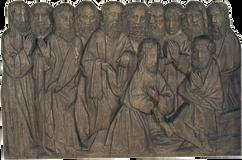 """""""Le lavement des pieds"""" - 15e siècle"""