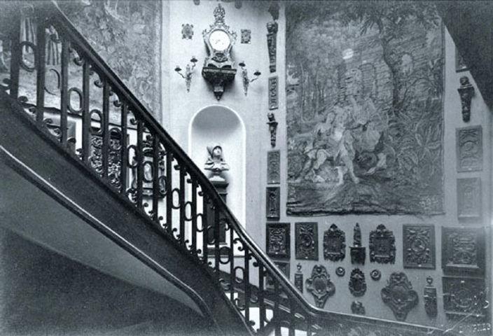 Musée Benoît-De-Puydt en 1914 ©MBDP