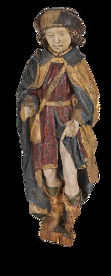 """""""Saint Roch"""" - Atelier de Malines (Flandre) - 15e siècle"""