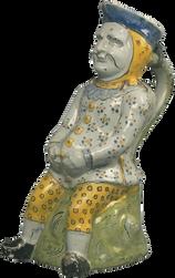 Pichet anthropomorphe - Lille - 18e siècle (2e moitié)