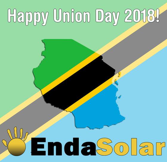 Happy Union Day from Enda Solar