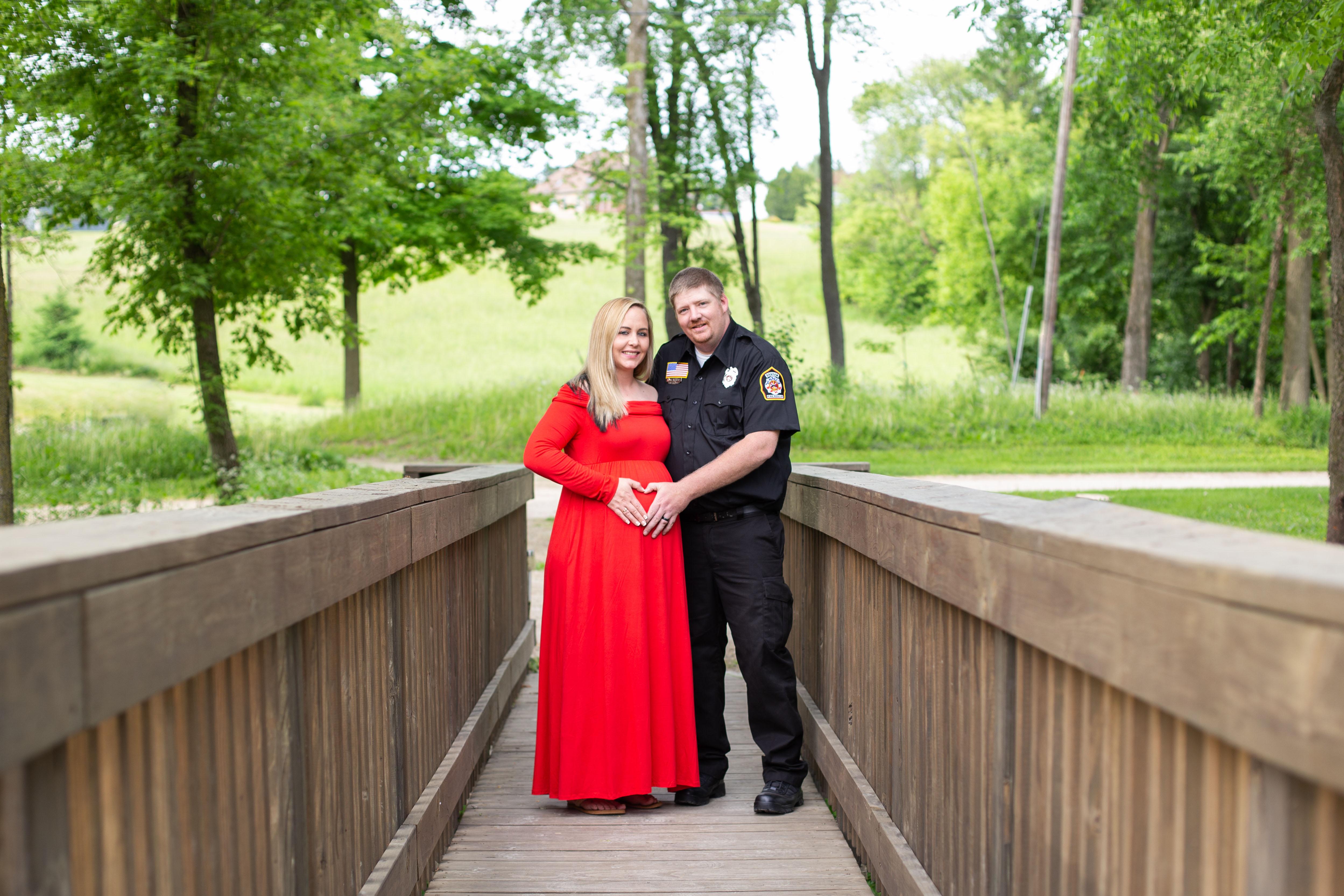 Bridge Maternity Photography