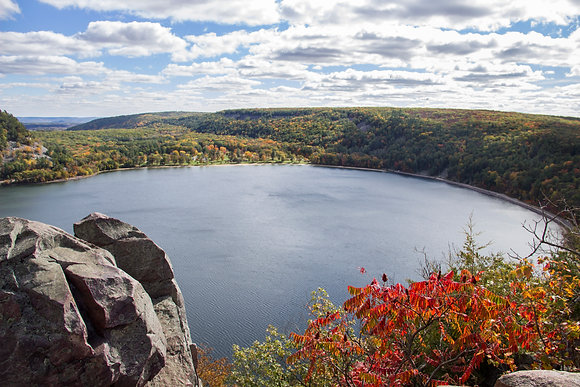 Devils Lake View