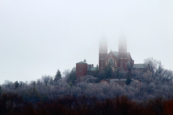 Holy Hill in Winter